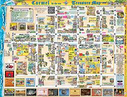 Lisas Studio Carmel Treasure Map 2013